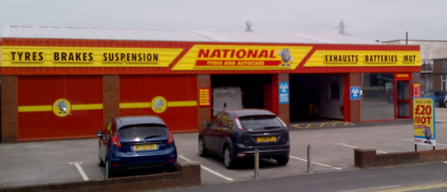 National Tyres and Autocare - Formby (Altcar Rd, L37) branch