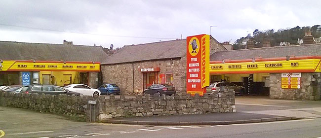 National Tyres And Autocare, Caernarfon