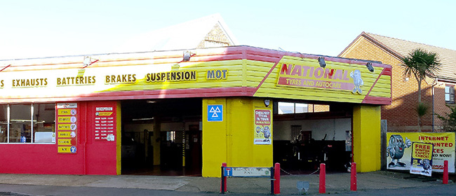 National Tyres and Autocare - Bournemouth branch