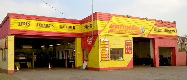 National Tyres and Autocare - Telford branch