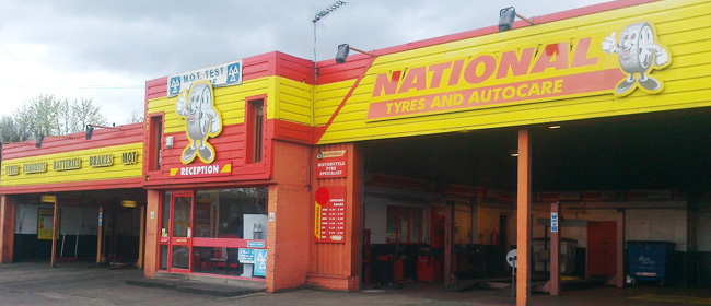 National Tyres and Autocare - Bradford (Canal Road - BD2) branch