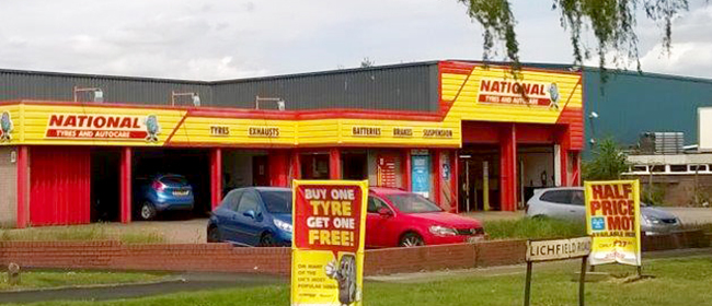 National Tyres and Autocare - Brownhills branch