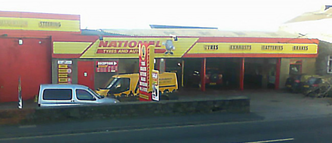 National Tyres and Autocare - Bridgend branch