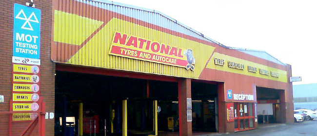 National Tyres and Autocare - Gloucester branch