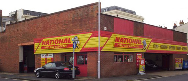 National Tyres and Autocare - Worthing branch