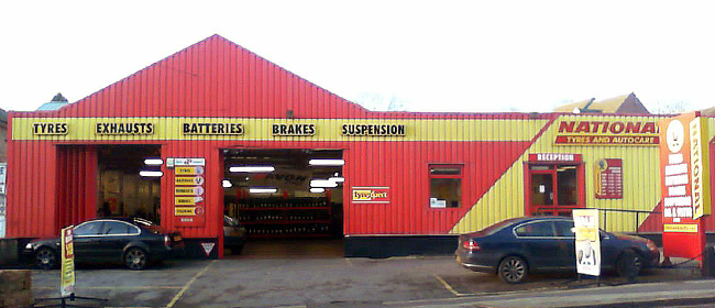 National Tyres and Autocare - Nottingham (Carlton Road NG3) branch