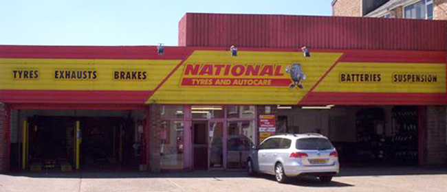 National Tyres and Autocare - Ipswich branch