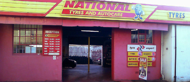 National Tyres and Autocare - Paignton branch