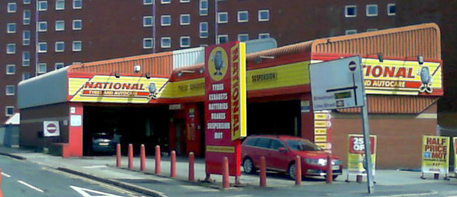 National Tyres and Autocare - Liverpool (Vauxhall Road L3) branch