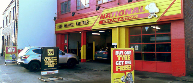 National Tyres and Autocare - Redcar branch