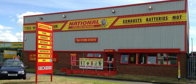 National Tyres and Autocare - Aylesbury branch