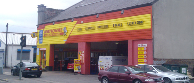 National Tyres and Autocare - Preston (Marsh Lane PR1) branch