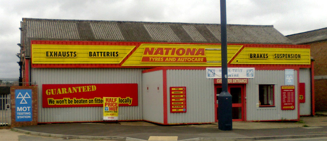 National Tyres and Autocare - Portsmouth branch