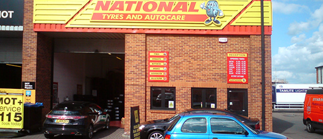 National Tyres and Autocare - Welwyn Garden City branch