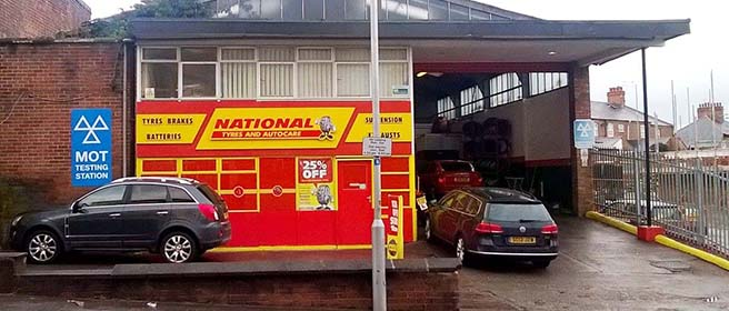 National Tyres and Autocare - Wrexham branch