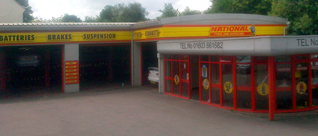 National Tyres and Autocare - Norwich branch