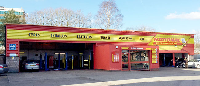 National Tyres and Autocare - Altrincham branch