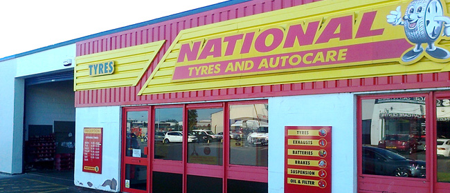 National Tyres and Autocare - Livingston branch