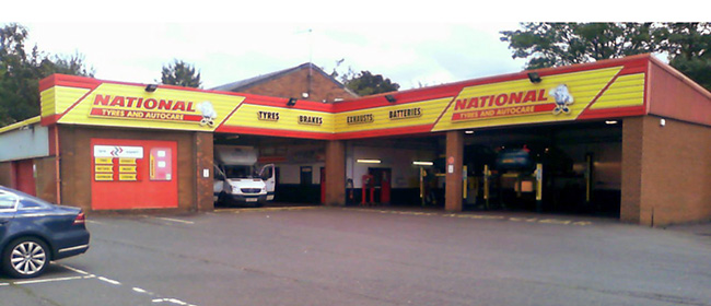 National Tyres and Autocare - Chesterfield branch