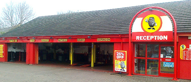National Tyres and Autocare - Durham branch