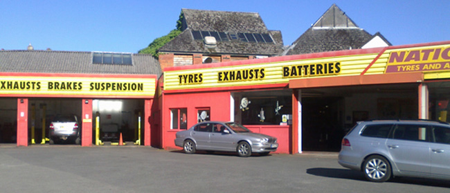 National Tyres and Autocare - Barnstaple branch