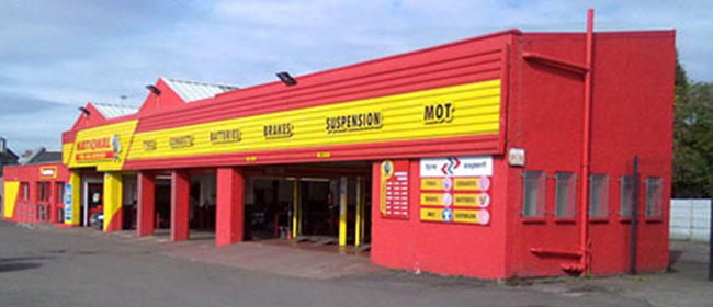 National Tyres and Autocare - Hamilton branch