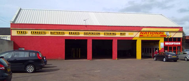 National Tyres and Autocare - Paisley branch