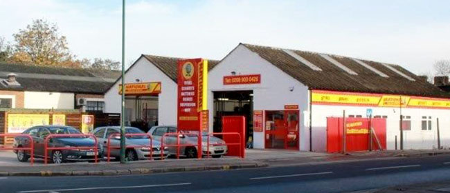 National Tyres and Autocare - Wembley branch