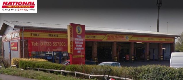 National Tyres and Autocare - Peterborough branch