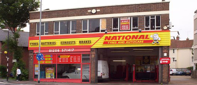 National Tyres and Autocare - Colchester branch
