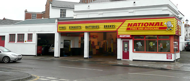 National Tyres and Autocare - Cheltenham branch