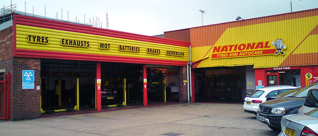 National Tyres and Autocare - Cambridge branch