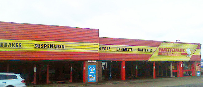 National Tyres and Autocare - Reading branch