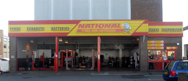 National Tyres and Autocare - High Wycombe branch
