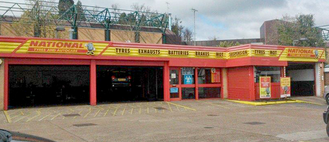 National Tyres and Autocare - Redhill branch