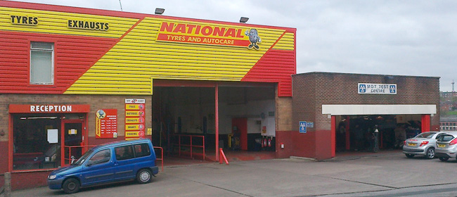 National Tyres and Autocare - Leeds (Sheepscar LS7) branch