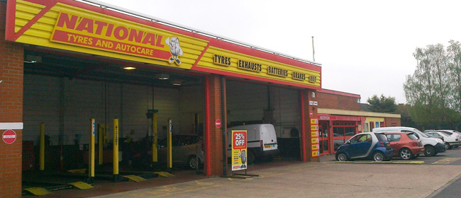 National Tyres and Autocare - Lincoln branch
