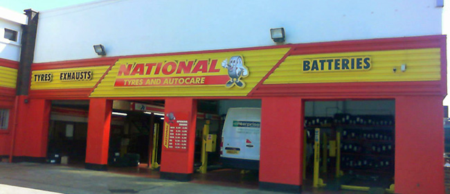 National Tyres and Autocare - Luton branch