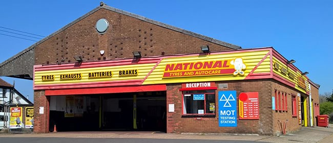 National Tyres and Autocare - Newport (Isle of Wight) branch