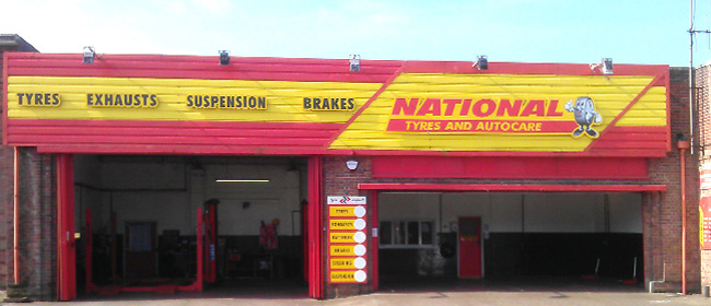 National Tyres and Autocare - Great Yarmouth branch