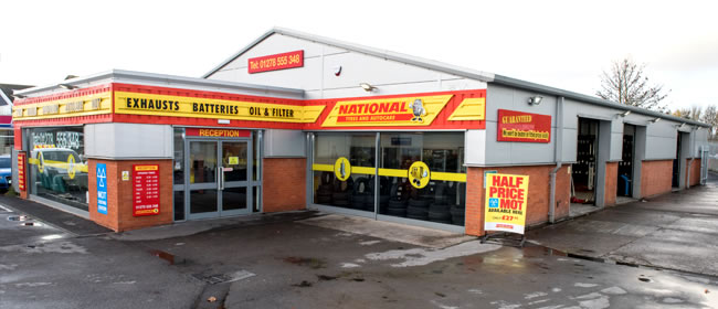 National Tyres and Autocare - Bridgwater branch