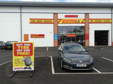 National Tyres and Autocare - Borehamwood branch