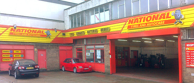 National Tyres and Autocare - Sheffield branch