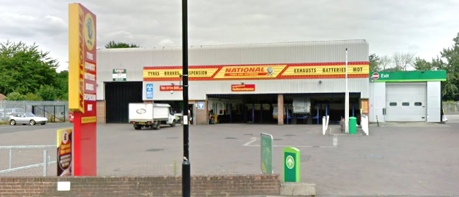 National Tyres and Autocare - Sheffield (Leppings Lane) branch
