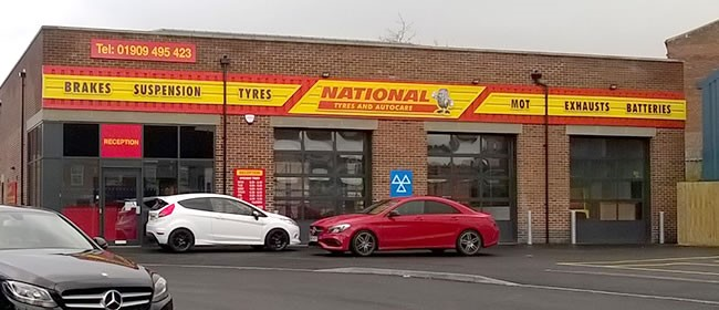 National Tyres and Autocare - Worksop branch