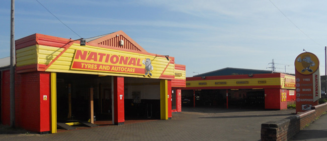 National Tyres and Autocare - Corby branch