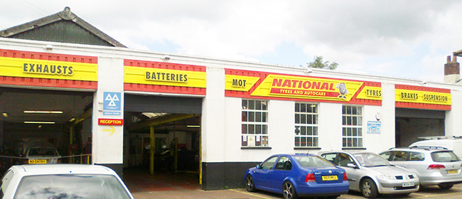 National Tyres and Autocare - Exeter branch