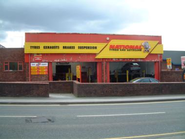 National Tyres and Autocare - Macclesfield branch