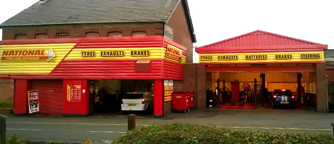 National Tyres and Autocare - Coalville branch
