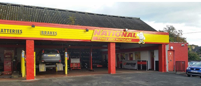 National Tyres and Autocare - Edinburgh (Ferry Road EH5) branch